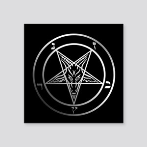 Satanic Pentagram Sticker