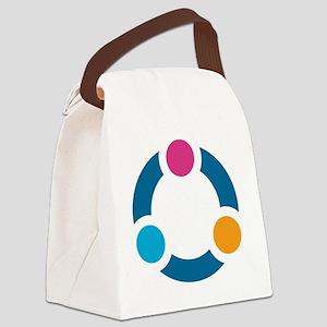 Eden II Design Canvas Lunch Bag