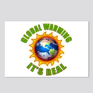 Global Warming Its Real Postcards (Package of 8)