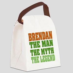 Brendan The Legend Canvas Lunch Bag