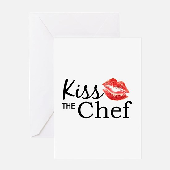 Kiss the Chef Greeting Cards