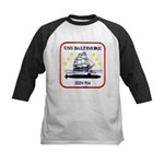 USS BALTIMORE Kids Baseball Jersey