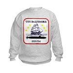 USS BALTIMORE Kids Sweatshirt
