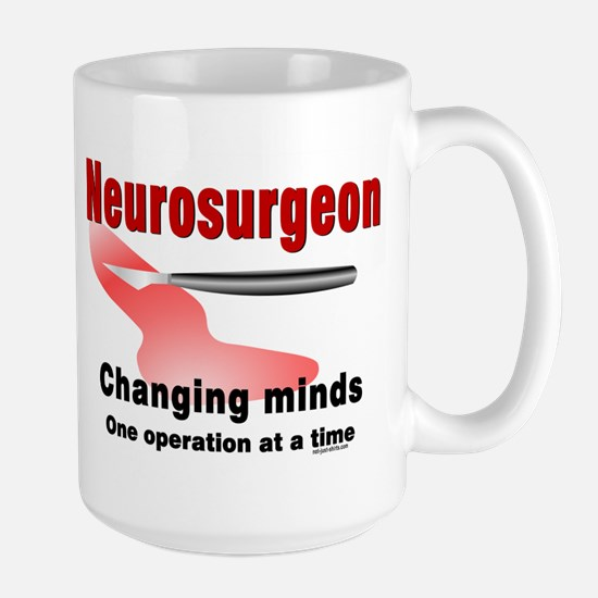 Neurosurgeon Red Large Mug