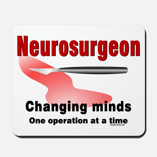 Neurosurgeon Red Mousepad