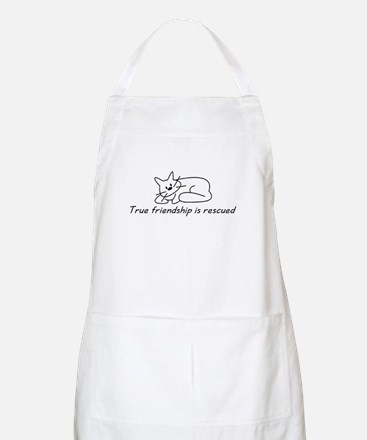 Cat Friendship BBQ Apron