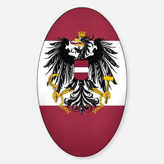 Austria (incred2) Sticker (Oval)