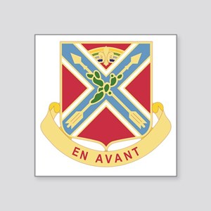 "151 Field Artillery Regimen Square Sticker 3"" x 3"""