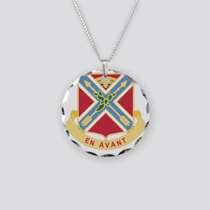 151 Field Artillery Regiment Necklace Circle Charm