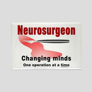 Neurosurgeon Red Rectangle Magnet