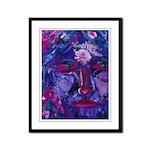 Sight, Abstract Magenta Goddess Framed Panel Print