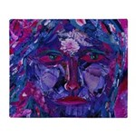 Sight, Abstract Magenta Goddess Throw Blanket