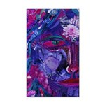 Sight, Abstract Magenta Goddess 20x12 Wall Decal