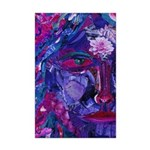 Sight, Abstract Magenta Goddess Mini Poster Print