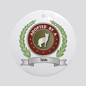 Adopted By Sokoke Ornament (Round)