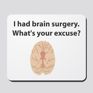 I had brain surgery. What's Mousepad