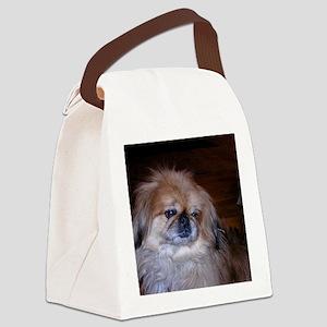 Pekinese Canvas Lunch Bag