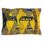 Conundrum II Golden Goddess Pillow Case