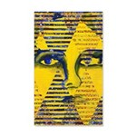 Conundrum II Golden Goddess 20x12 Wall Decal
