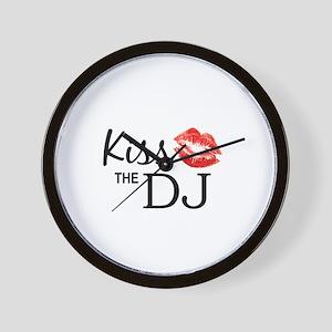 Kiss the DJ Wall Clock