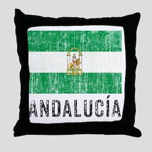 andalucia_fl3 Throw Pillow