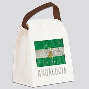 andalucia_fl3Bk Canvas Lunch Bag