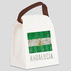 andalucia_fl3Bk Canvas Lunch Bag