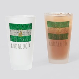 andalucia_fl3Bk Drinking Glass