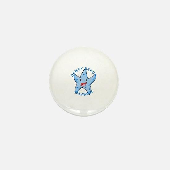 Unique Dewey beach Mini Button