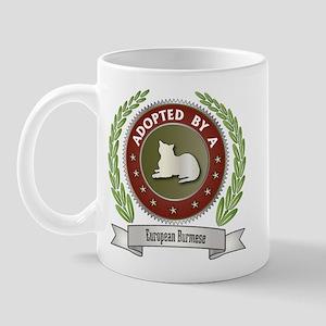 Adopted By Burmese Mug