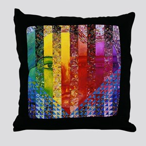 Conundrum I Throw Pillow