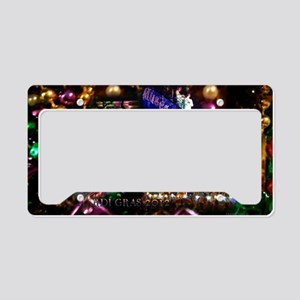 Mardi Gras 2012 License Plate Holder
