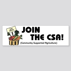 Join the CSA Bumper Sticker
