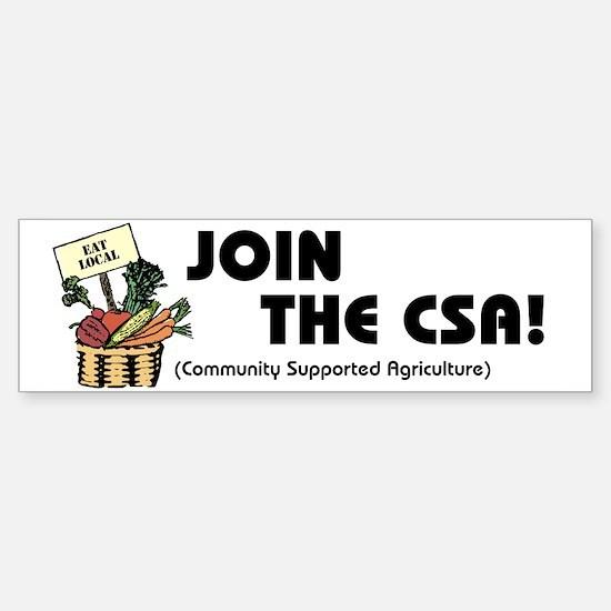 Join the CSA Bumper Bumper Bumper Sticker