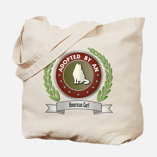 Adopted By Curl Tote Bag