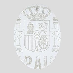 spain10Bk Oval Ornament