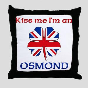 Osmond Family Throw Pillow