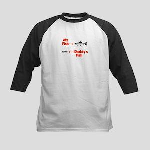 Myfishdaddysfish Baseball Jersey