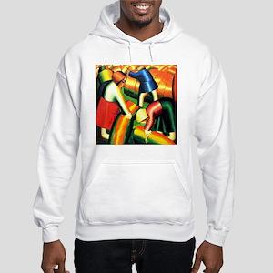 Kazimir Malevich: Taking in the  Hooded Sweatshirt