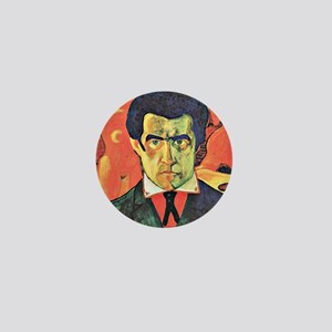Kazimir Malevich Self-Portrait Mini Button