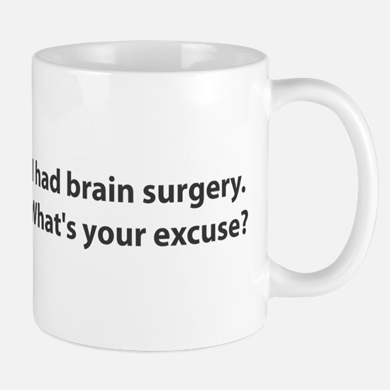 I had brain surgery. What's Mug