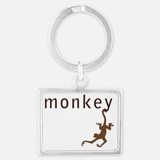 monkey34 Landscape Keychain