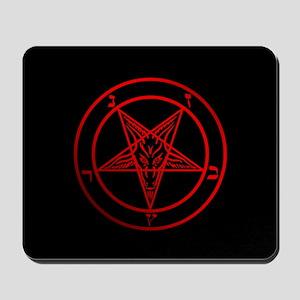 Satanic Pentagram Mousepad