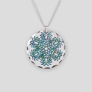 kokopelli Necklace Circle Charm