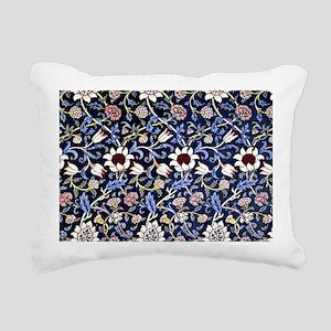 William Morris vintage d Rectangular Canvas Pillow