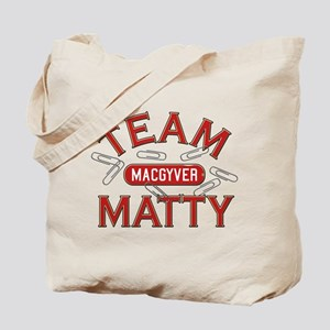 MacGyver Team Matty Tote Bag