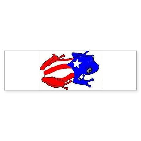 Puerto Rico Coqui Bumper Sticker