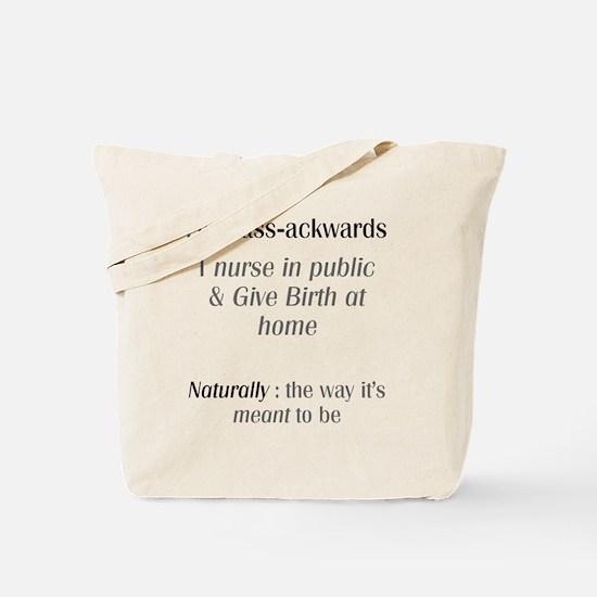 breastfeeding & homebirthing Tote Bag