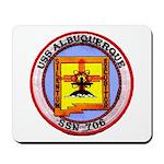 USS ALBUQUERQUE Mousepad