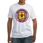 USS ALBUQUERQUE Fitted T-Shirt